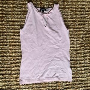 Le chateau blush light pink sleeves top key hole